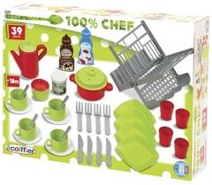 Smoby Набор сушилка д/посуды+посуда, 39 пр. (2619)