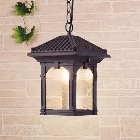 Corvus H капучино уличный подвесной светильник IP33 GL 1021H