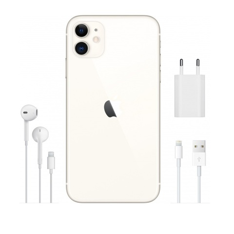Смартфон Apple iPhone 11 64GB White (белый)