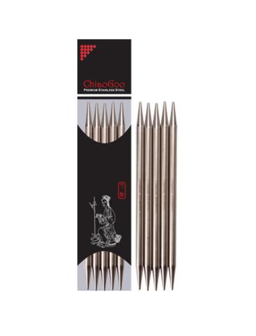 Спицы Chiaogoo чулочные металлические 15 см 2.25 мм