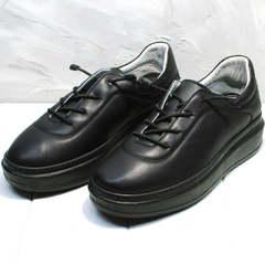 Модные кроссовки кеды женские Rozen M-520 All Black.
