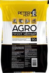 Грунт черный АГРО Peter Peat 50 л