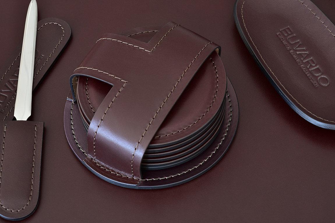 кожаный бирдекель