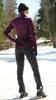 Детский утеплённый лыжный костюм Nordski Motion Purple-Black с высокой спинкой