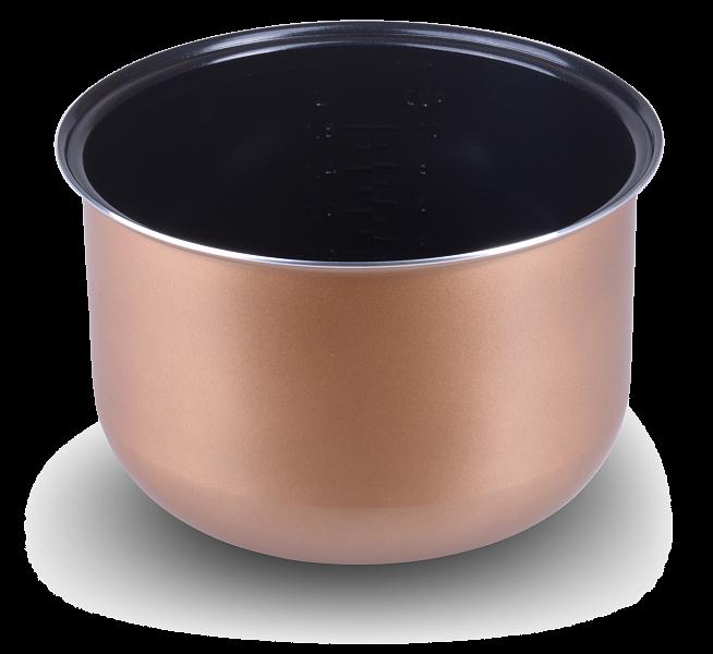 RB-C530 Чаша (кастрюля) (5 литров) с керамическим покрытием для мультиварки Redmond RMC-M170, RMC-M210, RMC-260, RMC-M800S SkyCooker