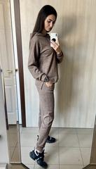 Исида. Прогулочный спортивный костюм из ангоры. Мокко