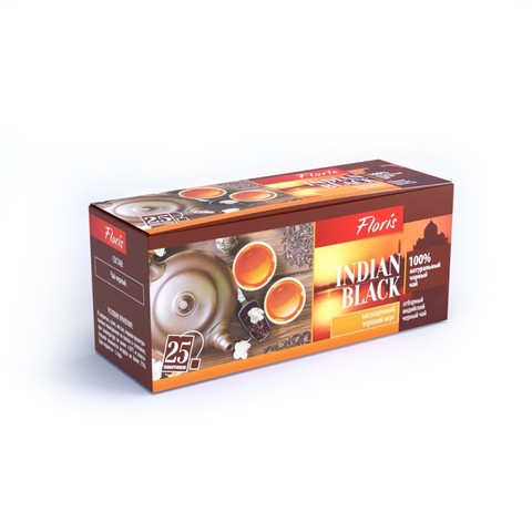 Чай INDIAN BLACK в фильтр-пакетах, 50г ТМ