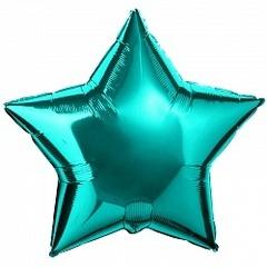 Шар звезда фольгированная 46 см