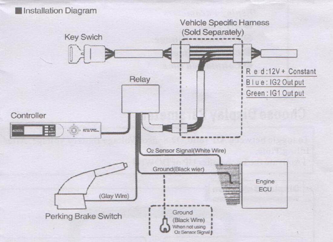 Схема подключения турботаймера Apexi