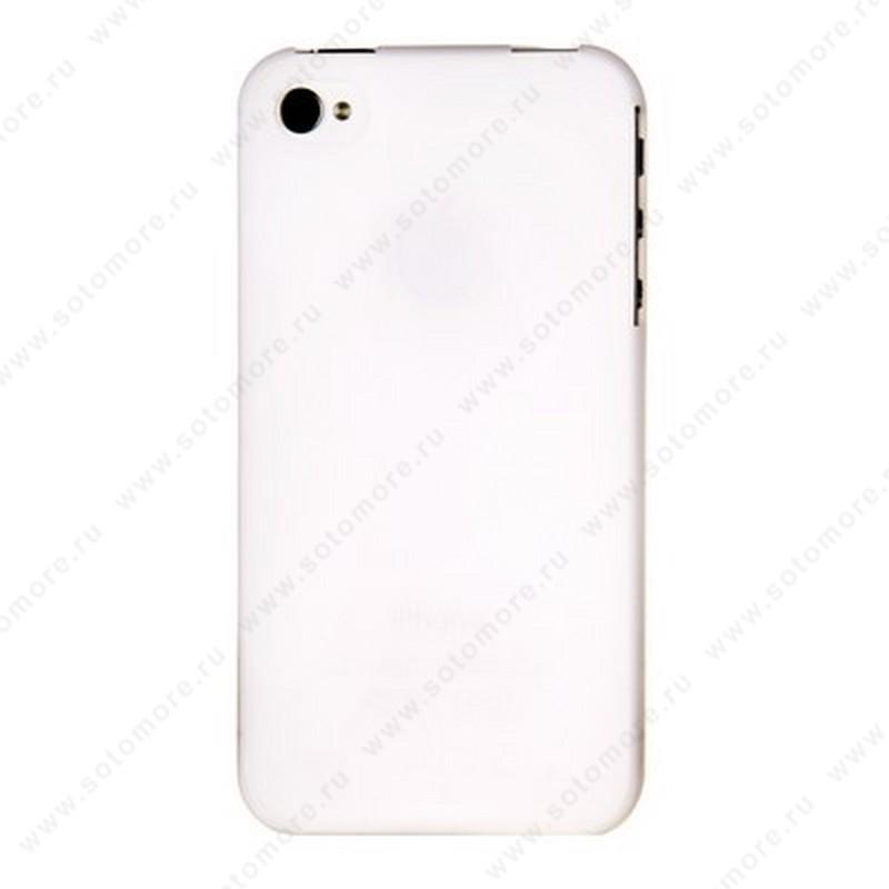 Накладка XINBO пластиковая для iPhone 4s/ 4 белая