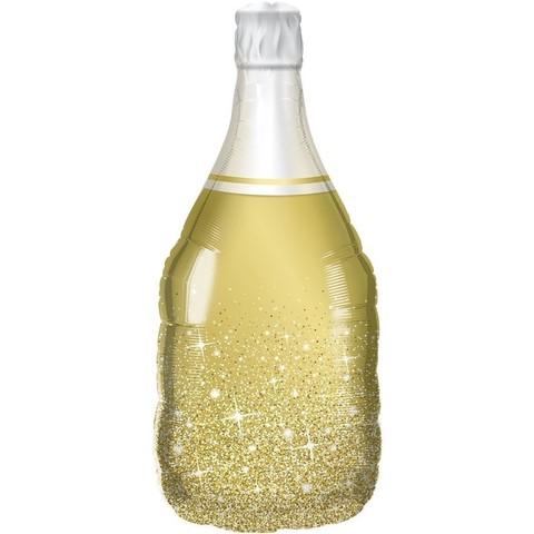 Фольгированный шар Шампанское Сверкающие Искры 94см.