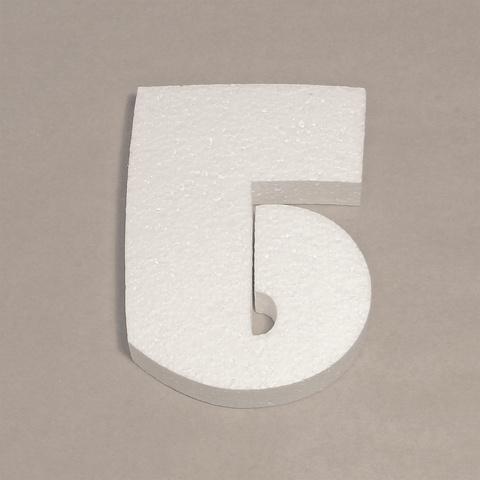 Буква Б шрифт BeeskneesC из пенопласта