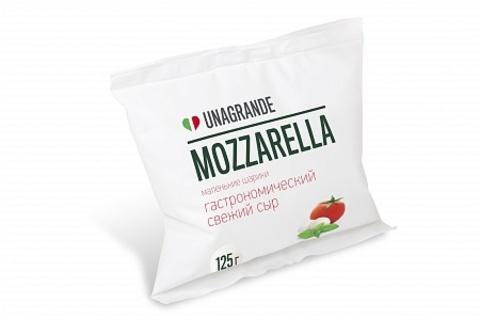 Сыр Моцарелла Маленькие Шарики 50%, 125 г