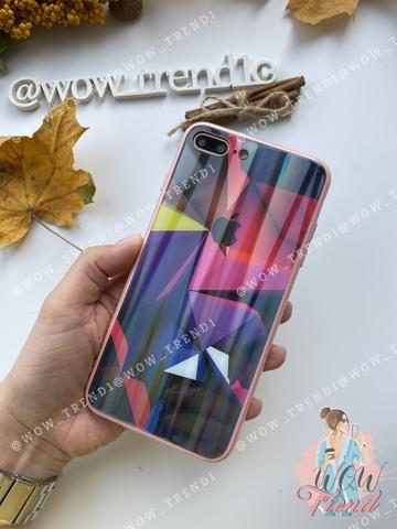 Чехол iPhone  XS Max Polaris smoke Case Logo /pink/