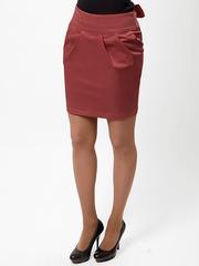 0556-3 юбка светло-коричневая