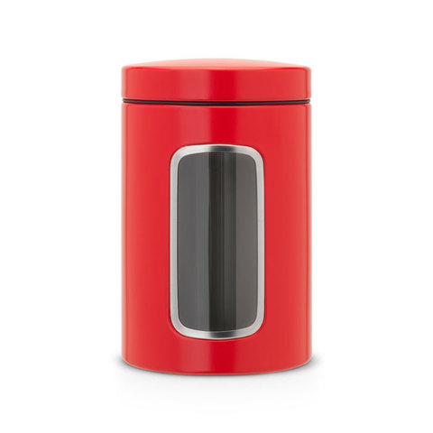 Контейнер для сыпучих продуктов с окном 1,4л, артикул 484063, производитель - Brabantia