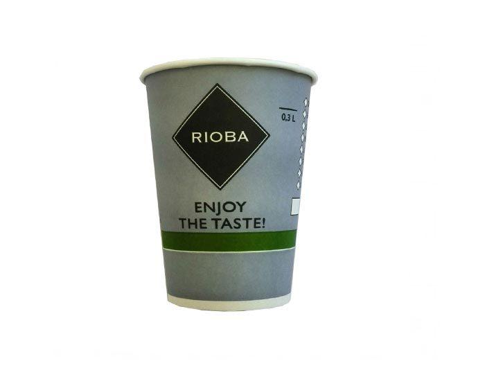 Одноразовый стакан для кофе Rioba 300