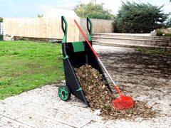 Садовая тачка-тележка Garden Cart, 80 л.