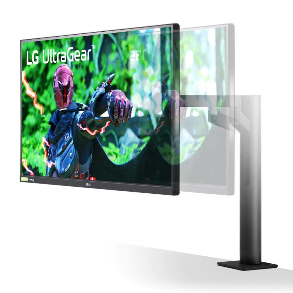 Quad HD IPS монитор LG UltraGear Ergo 27 дюймов 27GN880-B фото 3