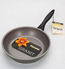 Сковорода «Гранит» несъемная ручка 24 см 24701