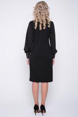<p>Хит сезона!!! Такое сочетание серого и чёрного усиливает деловое настроение! Ткань очень приятная к телу, в этом платье весь день пройдет комфортно! Прямой силуэт, рукав пышный на высоком манжете с пуговицами, ворот отложной на стойке. (Брошь в стоимость не входит).</p> <p>Отличный выбор от ELZA !</p> <p>Длины: 44-100см; 46-101см; 48-102см; 50-103см; 52-104см</p>