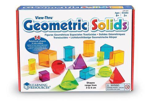 LER4331 Набор объемных геометрических фигур 14 шт. Learning Resources
