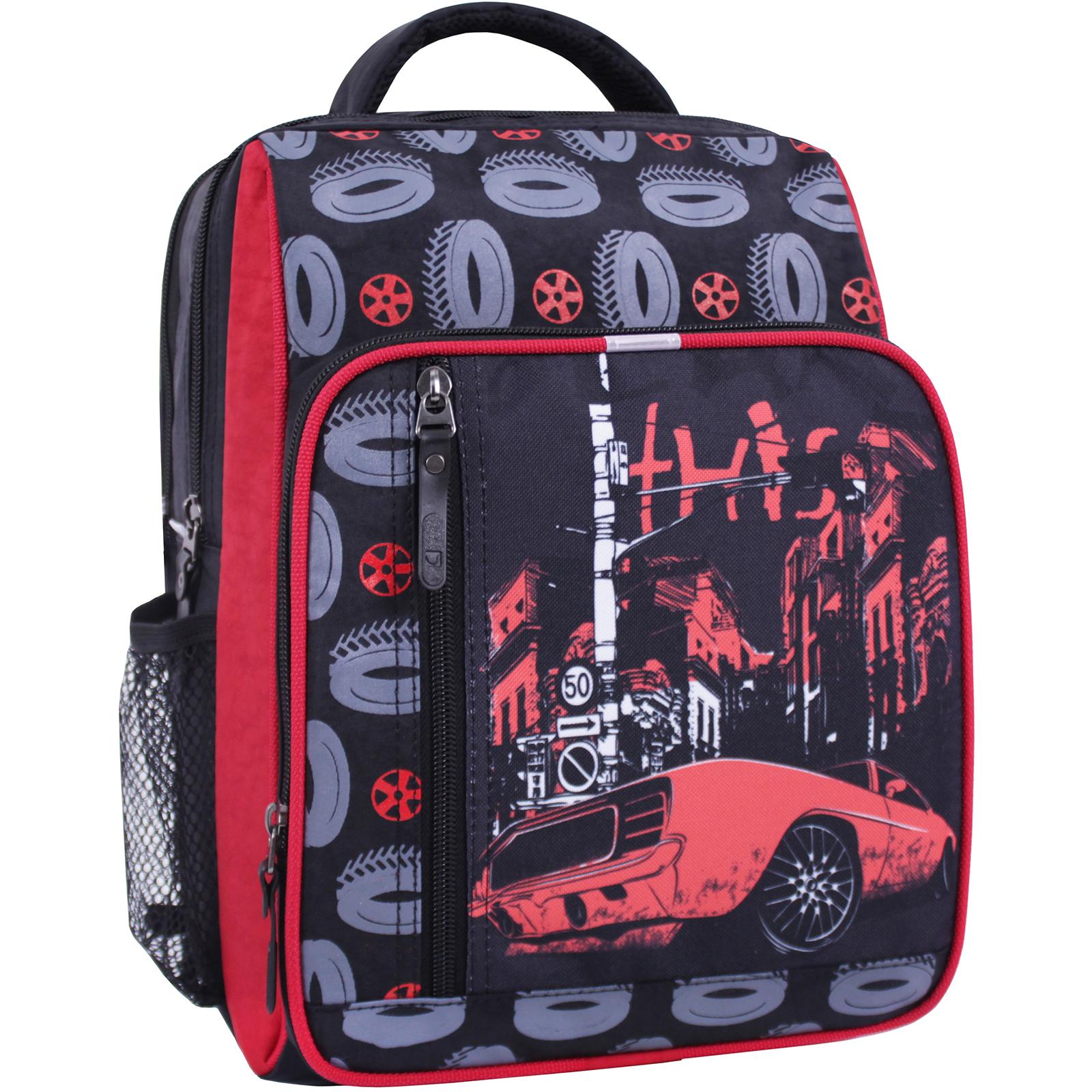 Детские рюкзаки Рюкзак школьный Bagland Школьник 8 л. черный 568 (0012870) IMG_0995_суб.568_.JPG