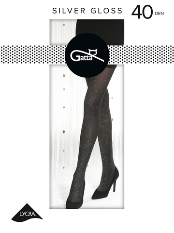 Колготки Silver Gloss 01 Gatta