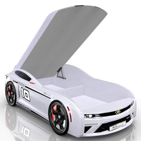 Кровать-машина Romack Energy-M Белая