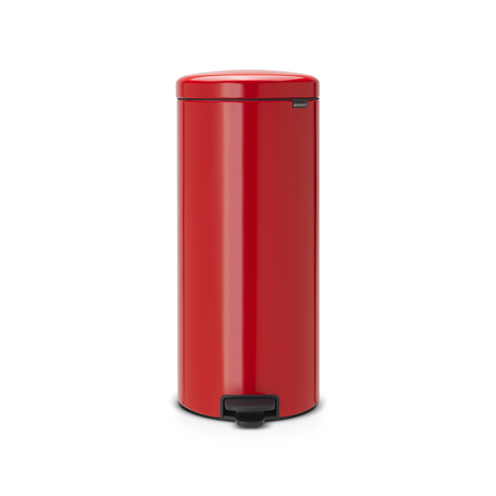 Мусорный бак newIcon (30 л), Пламенно-красный, арт. 111808 - фото 1