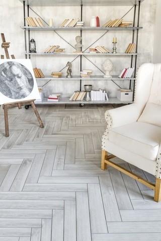 Виниловая ламинат  Alpine Floor Expressive Parquet Снежная Лавина ECO 10-5