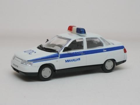 VAZ-2110 Lada DPS Police Agat Mossar Tantal 1:43