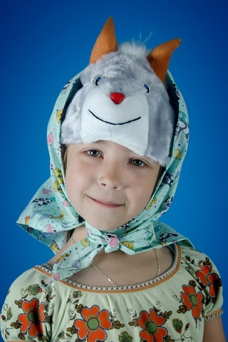 Карнавальная шапочка Козочки 2
