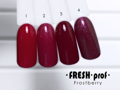 Гель-лак  Fresh prof Frost Berry FB №02
