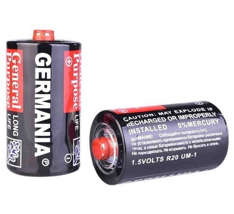 Батарейки Германия/Гетреди/Наша Энергия R20 (12/288)