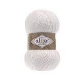 Пряжа Alize Alpaca Royal белый 55