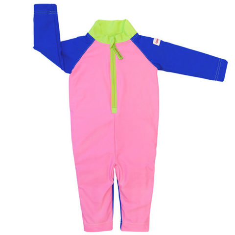 Плавательный костюм, plain pink/blue/green, 74-80 см./ 6-12 мес.