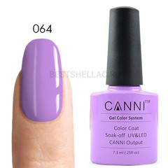 Canni, Гель-лак № 064, 7,3 мл