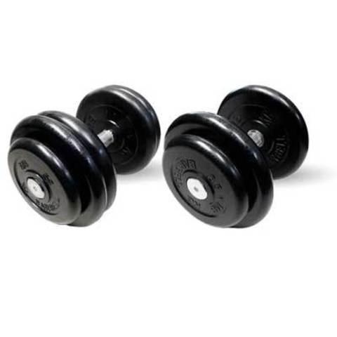 Гантели профессиональные неразборные 46 кг 2 пары.