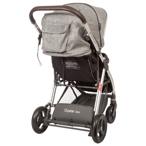 Прогулочная коляска Oyster Zero Basic Granite Grey