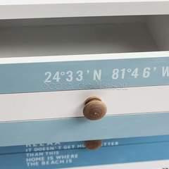 Тумба с 2 ящиками Mediterranean (mod. 63604) — белый