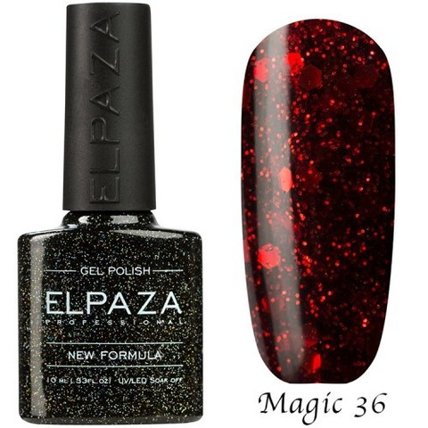 Гель лак Elpaza Magic, МАРС 36