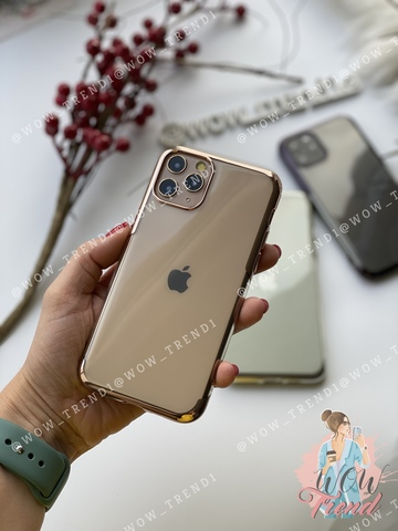 Чехол iPhone 11 Pro Baseus Shining Case /gold/