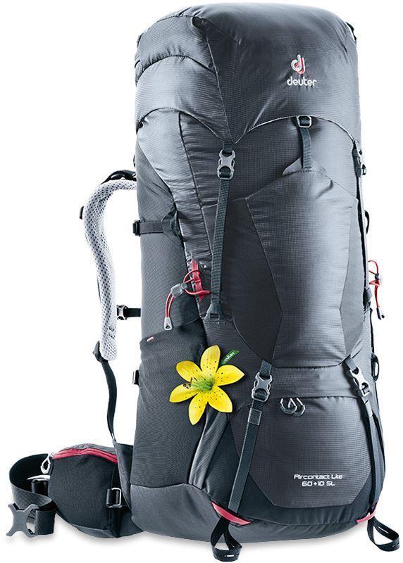 Туристические рюкзаки большие Рюкзак Deuter Aircontact Lite 60+10 SL 0020809_deuter-op-act-lite-6010sl-graphite-blk.jpeg