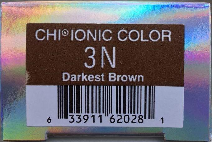 Крем-краска CHI Ионик 3 N 85 гр