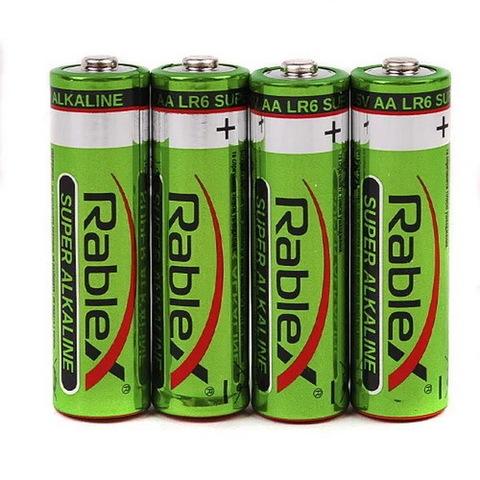 Батарейки Rablex Alkaline LR6, AA (4/40)