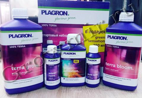 Стартовый набор удобрений Plagron TERRA Kit