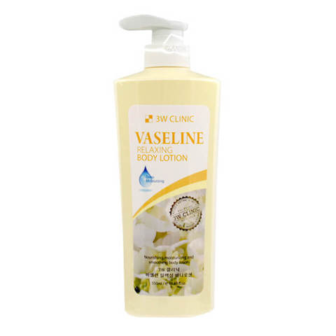 Лосьон для тела Вазелин 3W CLINIC Relaxing Body lotion 550 мл