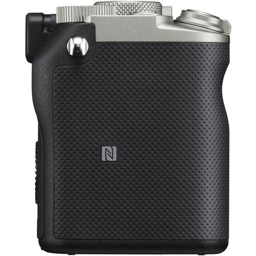 Полнокадровая фотокамера Sony ILCE-7C/S серебристого цвета