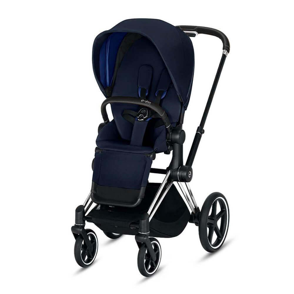 Цвета Cybex Priam прогулочная Прогулочная коляска Cybex Priam III Indigo Blue шасси Chrome/Black cybex-priam-iii-indigo-blue-chrome-black.jpg